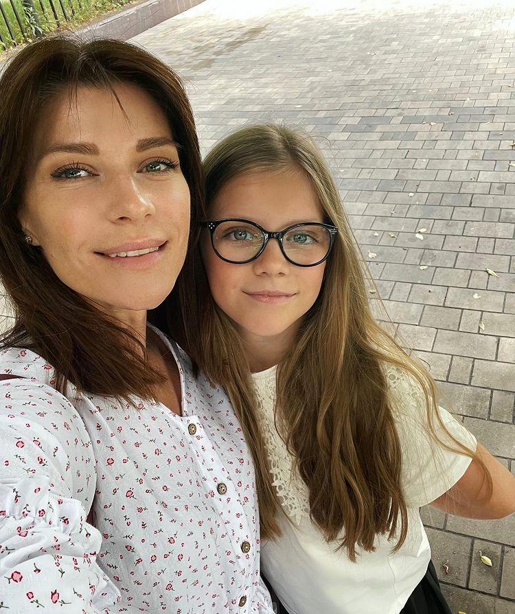 Екатерина Волкова дочь Лиза