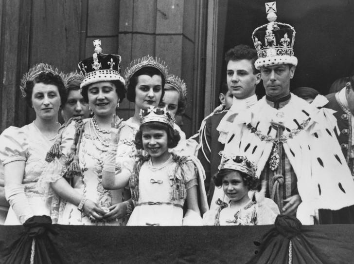 Король Георг 6 принцесса Елизавета