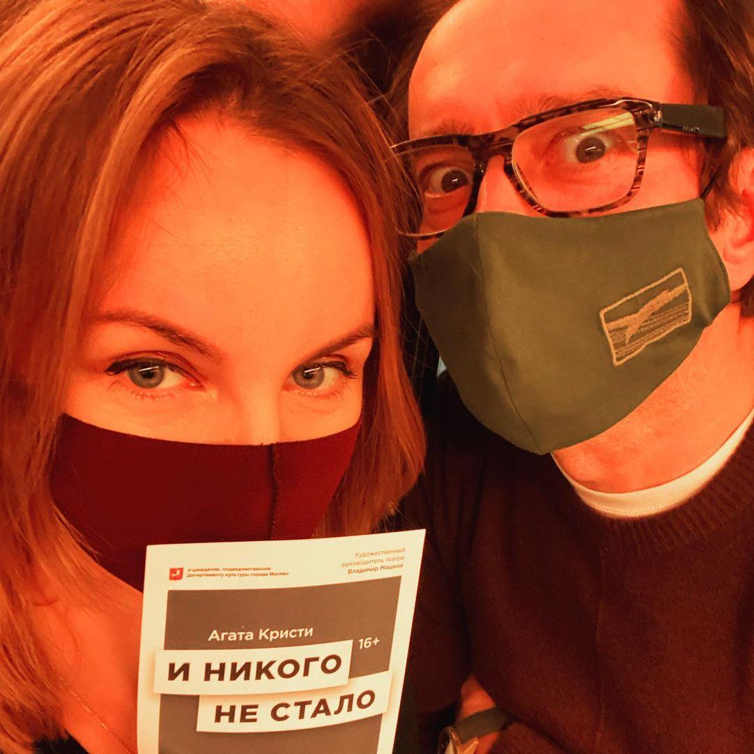Константин Хабенский жена Ольга Литвинова