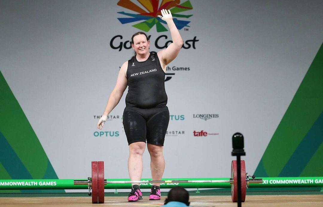 Тяжелоатлетка из Новой Зеландии Лорел Хаббард