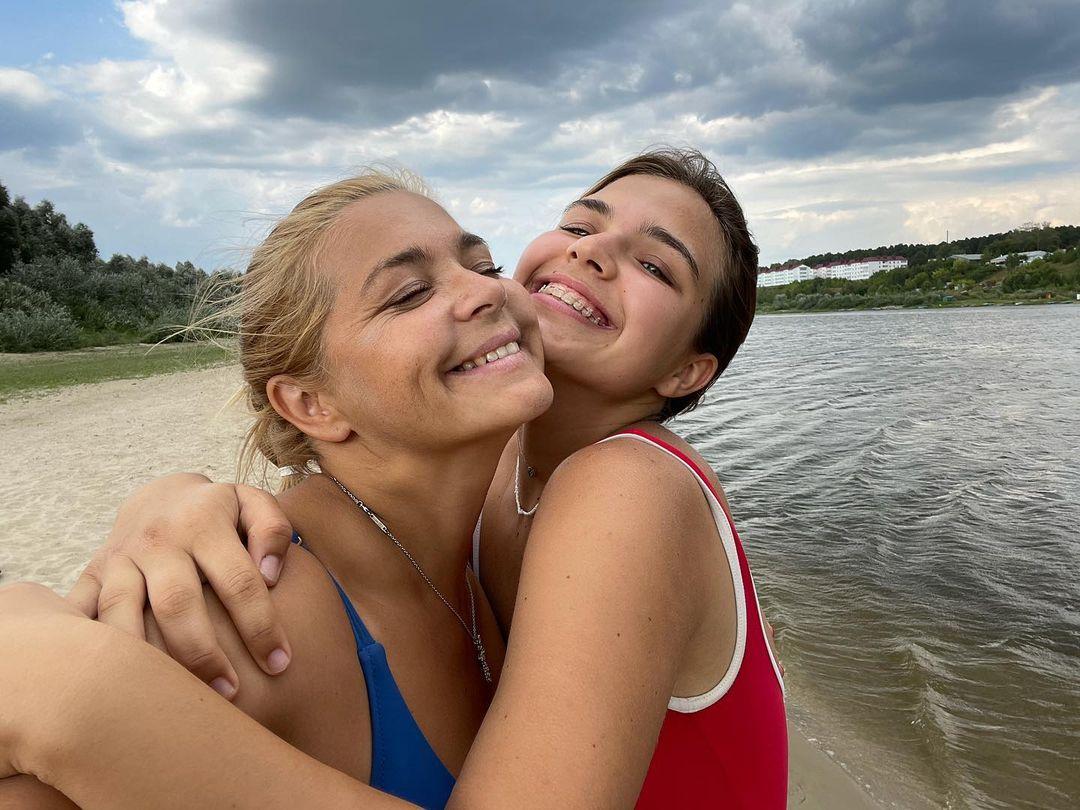 Ирина Пегова в купальнике дочь Татьяна