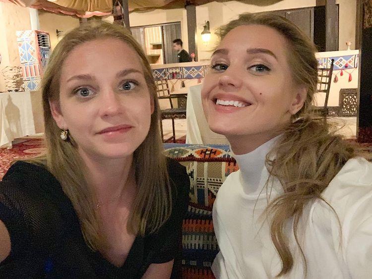 Кристина Асмус сестра Карина