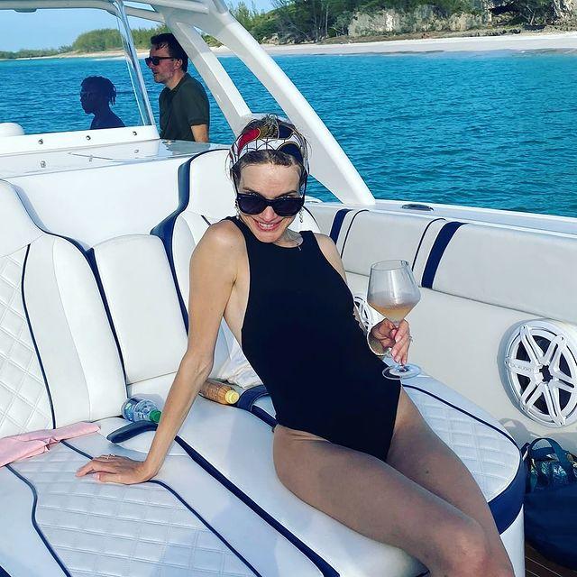 Наталья Водянова в купальнике