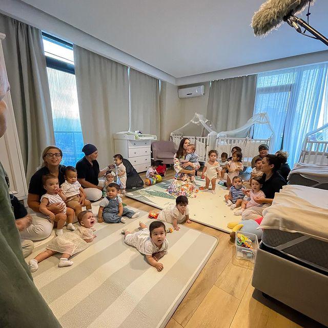 Няни многодетной семьи Озтюрк