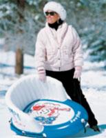 Как сделать санки из лыж в домашних условиях видео