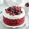 Как украсить торт малиной: рецепт торта Красный бархат