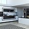 Дизайн кухни-гостиной: как спрятать мойку, плиту и дверные ручки?