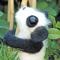 Амигуруми. Вязаные игрушки своими руками. Панда и фламинго.