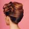 Свадебные  прически для средних волос: 2 мастер-класса с фото.