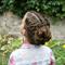 Высокая прическа для девочки – к празднику. Мастер-класс с видео
