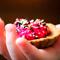 Два восточных рецепта: хумус и дип из свеклы – в тарталетках