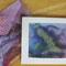Новогодние поделки – из детских рисунков: гирлянды, открытки, конверты