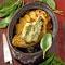 Французские рецепты : салат с чечевицей и  паштет  из шпината.