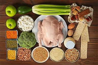 Protein в каких продуктах?