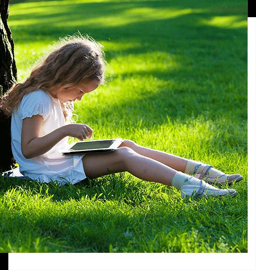 Во что не вредно играть ребенку на планшете?