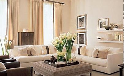 Декоративный текстиль в цвет мебели