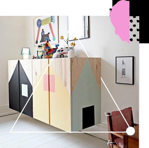 Покрасьте мебель