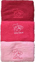 Комплект фирменных 7ейных полотенец