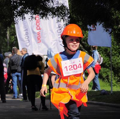 Благотворительный пробег ''Спорт во благо'' в поддержку детей с синдромом дауна