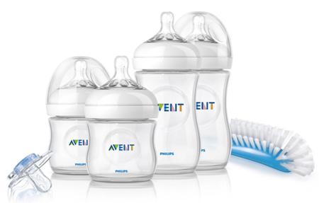 Philips AVENT представляет набор для новорожденного серии Natural