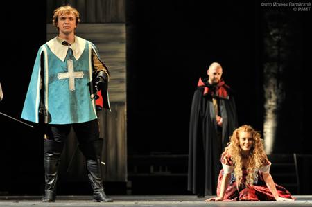 В Российском Академическом Молодежном театре появились новые ''Мушкетеры''