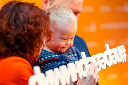 ''Переверни мир'' для ребенка с синдромом Дауна