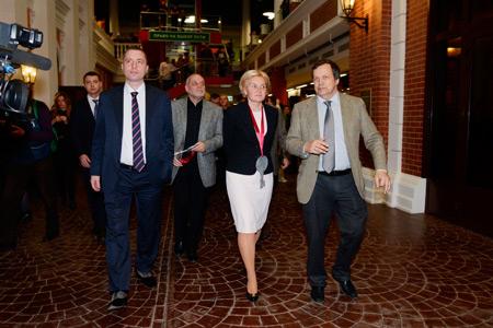 В Москве прошла церемония официального открытия детского города мастеров ''Мастерславль''