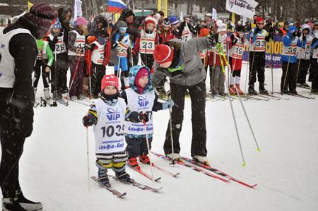 Благотворительная лыжная гонка