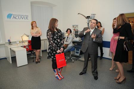 В Москве открылся новый Центр коррекции зрения, специализирующийся на подборе контактных линз
