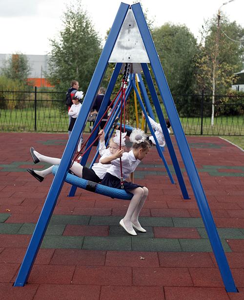 Инклюзивный игровой парк в Нижнем Новгороде