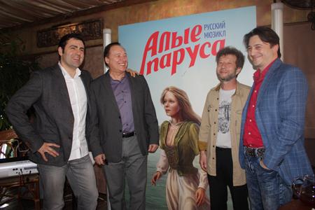 Мюзикл ''Алые паруса'' появится в Москве в октябре 2013 года