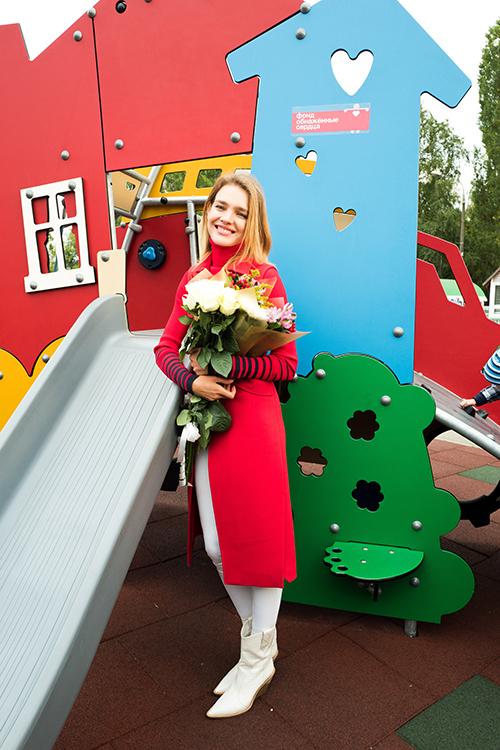 Наталья Водянова открыла Инклюзивный игровой парк в Нижнем Новгороде