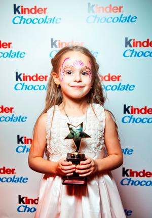 Kinder ® наградил победителей интернет-видео конкурса
