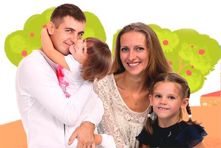Устройство детей в семьи
