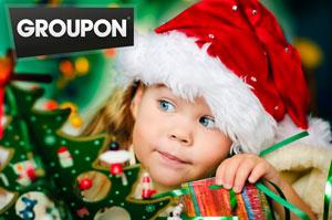 Новогодняя благотворительная акция на Groupon