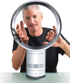 Джеймс Дайсон и вентилятор Dyson Air Multiplier™