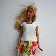 Джессика: Одежда для кукол своими руками. Простой мастер-класс с фото