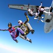 Юлия Карпухина: Путь в небо. Прыжок с парашютом