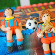 День рождения — 1 год. Праздник для мальчика — и других футболистов