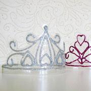 Новогоднее украшение своими руками. Как сделать корону — шаблон