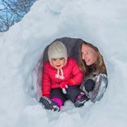 Зима не бывает скучной! Три новых идеи для прогулки с детьми