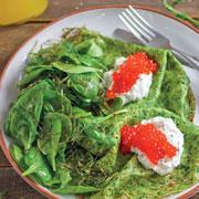 Как отметить Масленицу на правильном питании: блины из зеленой гречки