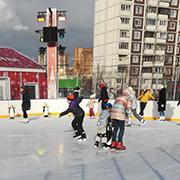 Мы на каток, присоединяйтесь! Где мы катались на коньках этой зимой