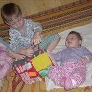 Как сэкономить на развивающих игрушках? Сшить их самой!