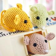 Ники Тренч: Вязаные игрушки своими руками. Амигуруми - мышки и кошка