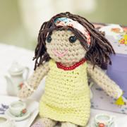 Вязаные игрушки своими руками. Как сделать куклу - амигуруми?