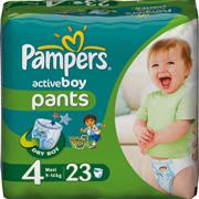 Уход за детьми от года: подгузники-трусики для активных малышей