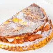 2 рецепта: быстрый завтрак и изысканный десерт - из яиц