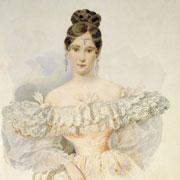 Наталья Гончарова: 7 известных портретов жены Пушкина