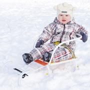 Санки для малыша: деревянные, металлические, снегокаты и ледянки